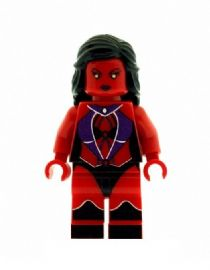 Red She Hulk Verion 2 - Custom Designed Minifigure